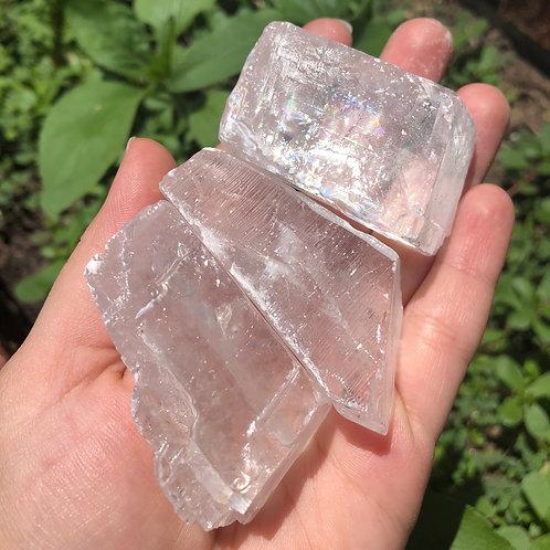 Raw White Calcite