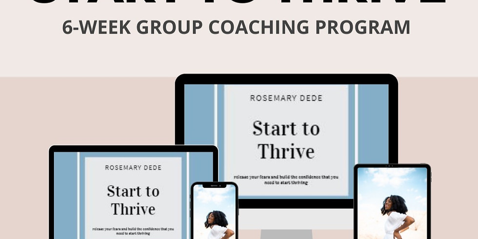 Waitlist 6-Week Group Coaching