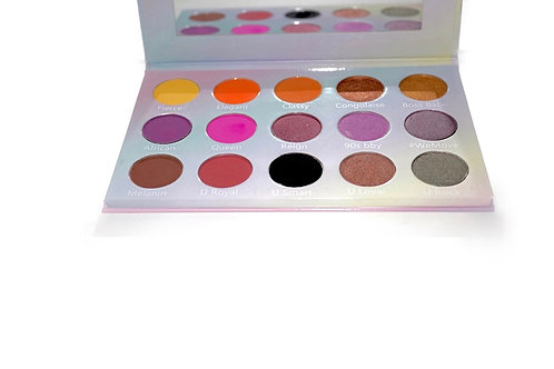 Queen - make up palette