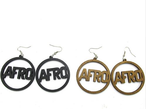 Afro earring