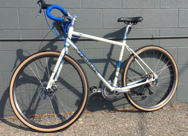 "Salsa Vaya, nicknamed ""The Butter Bike"""