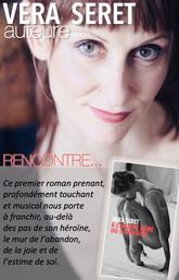 Rencontre avec Vera Seret au Salon du livre de Saint-Malo.