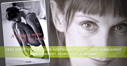 "Article sur Vera Seret ""Portrait d'Auteure"" par le site Bookelis."