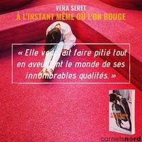 """Teaser du roman de Vera Seret """"À l'instant même où l'on bouge"""", éditions Carnets Nord."""