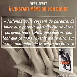 """Teaser Éditions Carnets Nord pour la sortie du premier roman de Vera Seret """"À l'instant même où l'on bouge""""."""