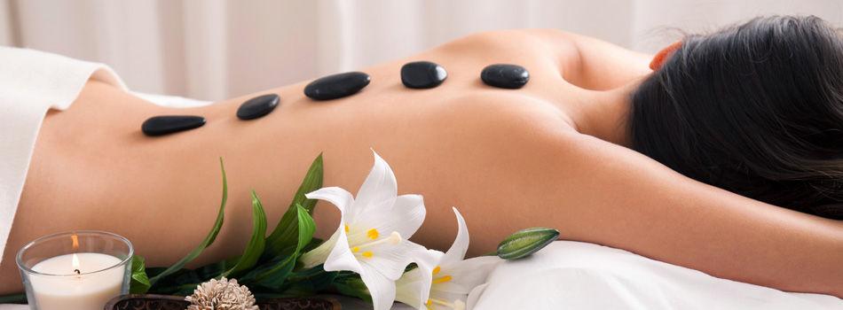 Lava Hot stone massage