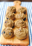 Clean blueberry protein muffins.png