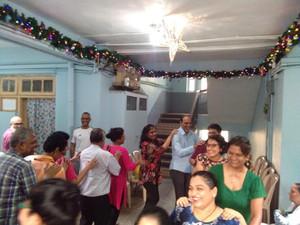 An inter-faith fellowship at Rukkalbai Palace