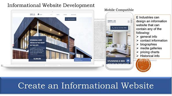 Create an Informational Website