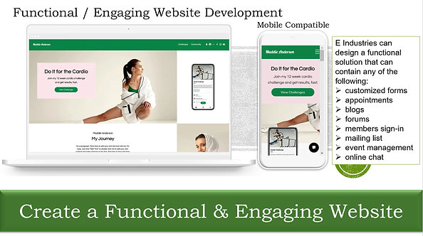 Create a Functional & Engaging Website