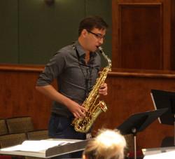 Concerto Rehearsal