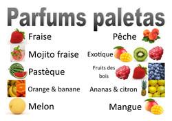 parfums paletas