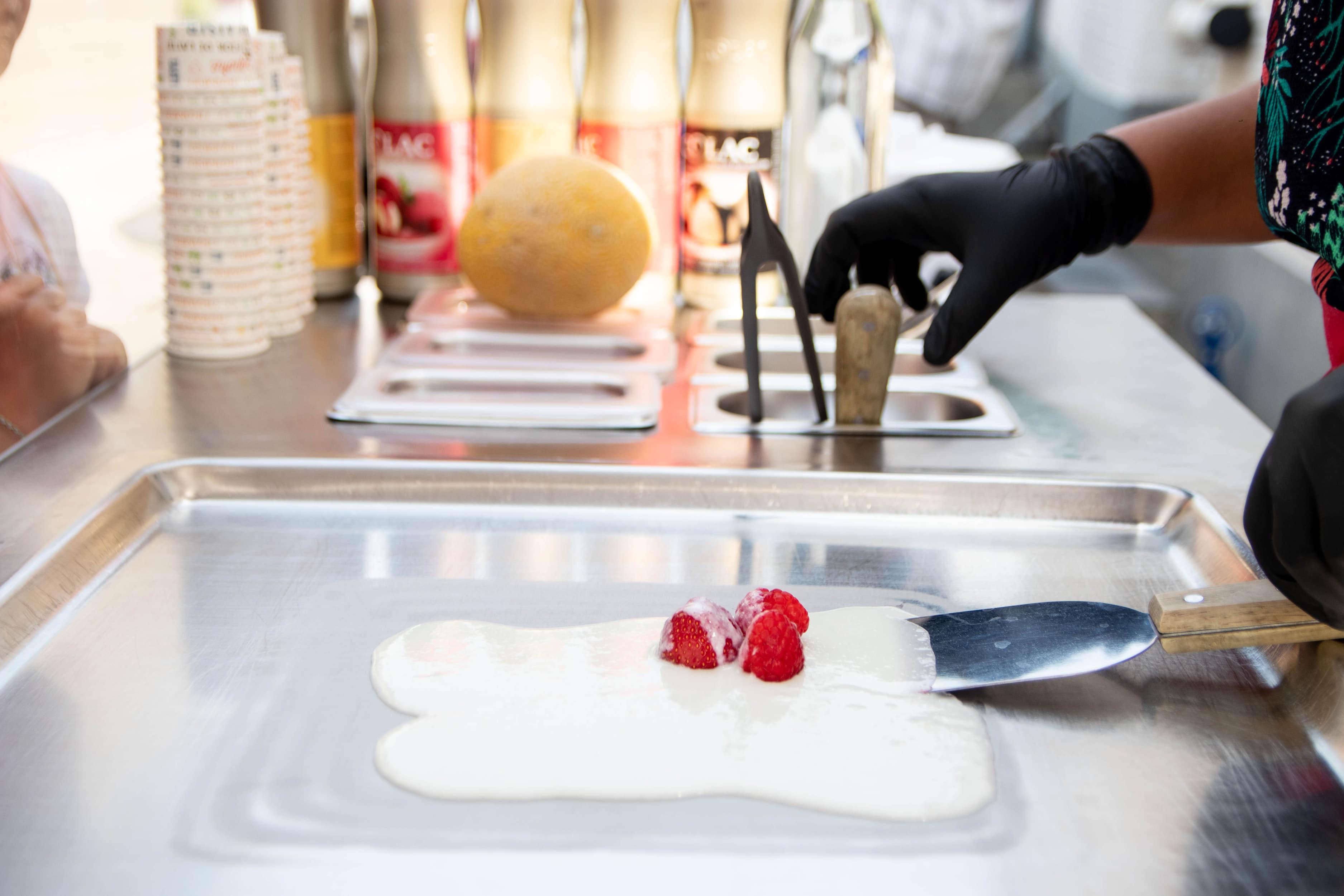Fruits et glace