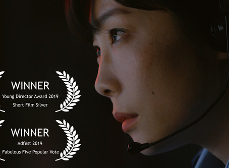 Jo's 'Midnight' wins again! SILVER at YAD, Cannes