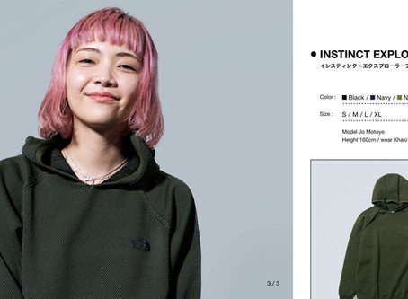 """The North Face x Jo Motoyo. Jo chitchats about the """"Visual"""" and """"Desire"""""""