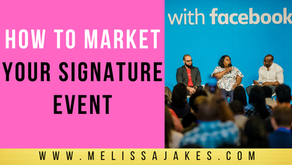How to Market Your Signature Event
