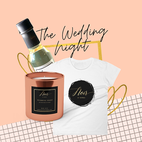 The Wedding Night Candle - Collaboration with Noir by Nyrai