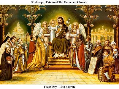 St. Joseph Patron of the Universal Churc