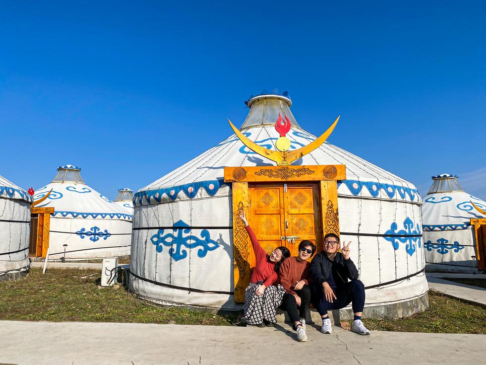 China Inner Mongolia Day4 中國內蒙古 第四天行程全記錄 烏蘭山太極圖/中俄邊境額爾古納河/邊境7卡/室韋/住宿俄式木刻楞子小木屋