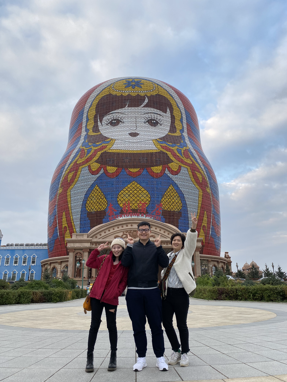 China Inner Mongolia Day1-2 中國內蒙古 第一二天行程全記錄 全世界最大的俄羅斯娃娃在這裡!
