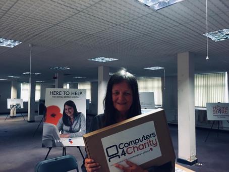 Laptop Donated to Tanzed UK