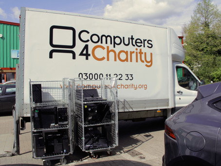 Donation of IT equipment from Fairdeal Windows, Aylesford