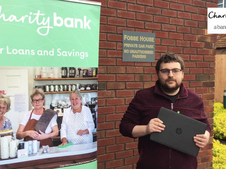 Donation of IT equipment from Charity Bank