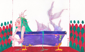 Bathtime_Mermaid