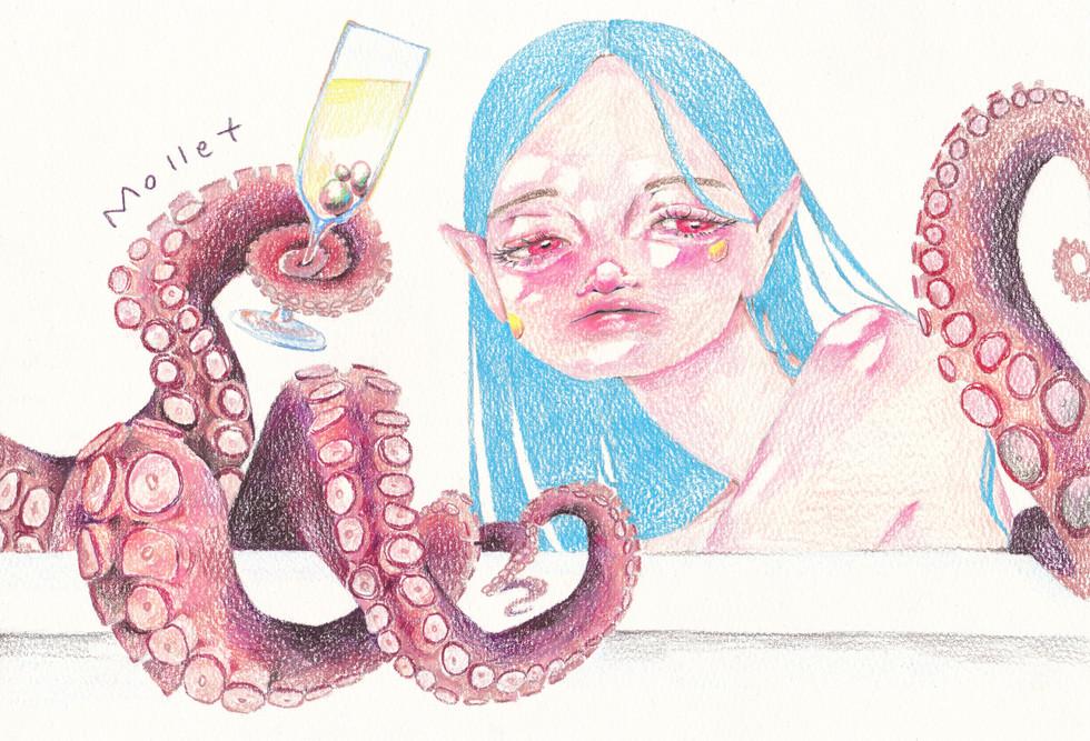 Bath Time (kraken)