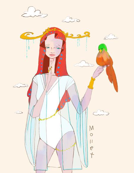 말하는 앵무새를 믿는 종교