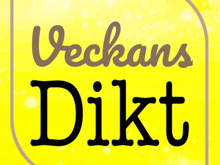 VECKANS DIKT - CHRISTINA NORÉN ALBERTSSON - IRIS STENQUIST