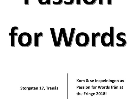 PASSION FOR WORDS