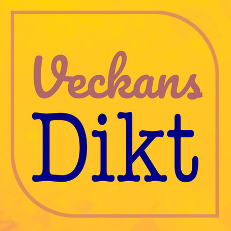 VECKANS DIKT - TRANÅS - JUAN CAMERON