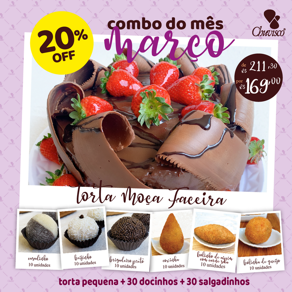 Chuvisco - post MAR combo Torta Moça Fa