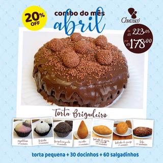 Chuvisco - post combo Torta Brigadeiro +