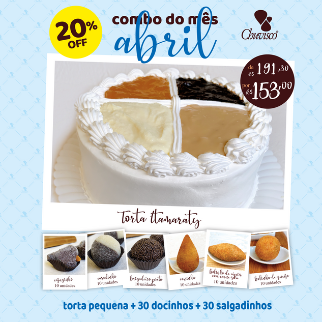 Chuvisco - post abril 21 Torta Itamaraty