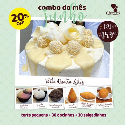 Chuvisco - post combo Torta Quatro Leite