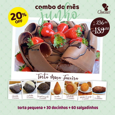 Chuvisco - post combo Torta Moça Faceir