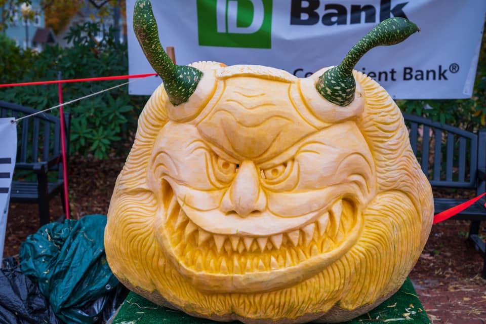 krampus pumpkin