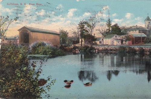 gtown postcard