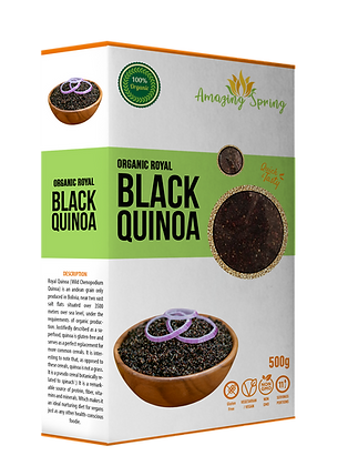 Organic Royal Black Quinoa