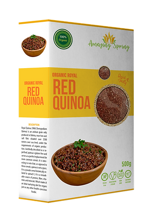 Organic Royal Red Quinoa