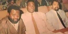 Matanda ma Mboyo Kudiakubanza et Fayulu Madidi à la CNS entre 1991 et 1992.