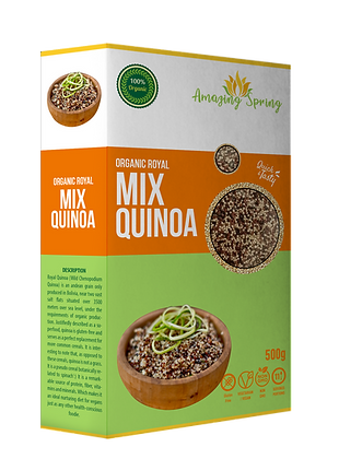 Organic Royal Mixed Quinoa