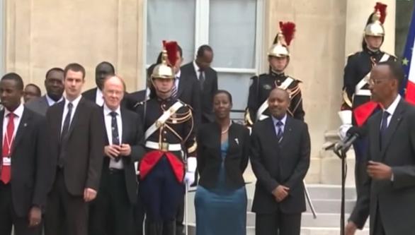 Kagame à Paris.