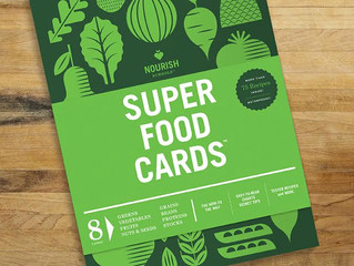 A Super Food Cards Giveaway!