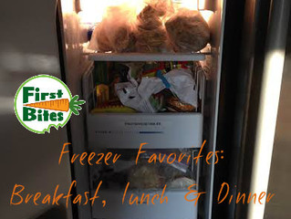 Back To School Freezer Favorites (perfect for a busy breakfast, lunch or dinner!)