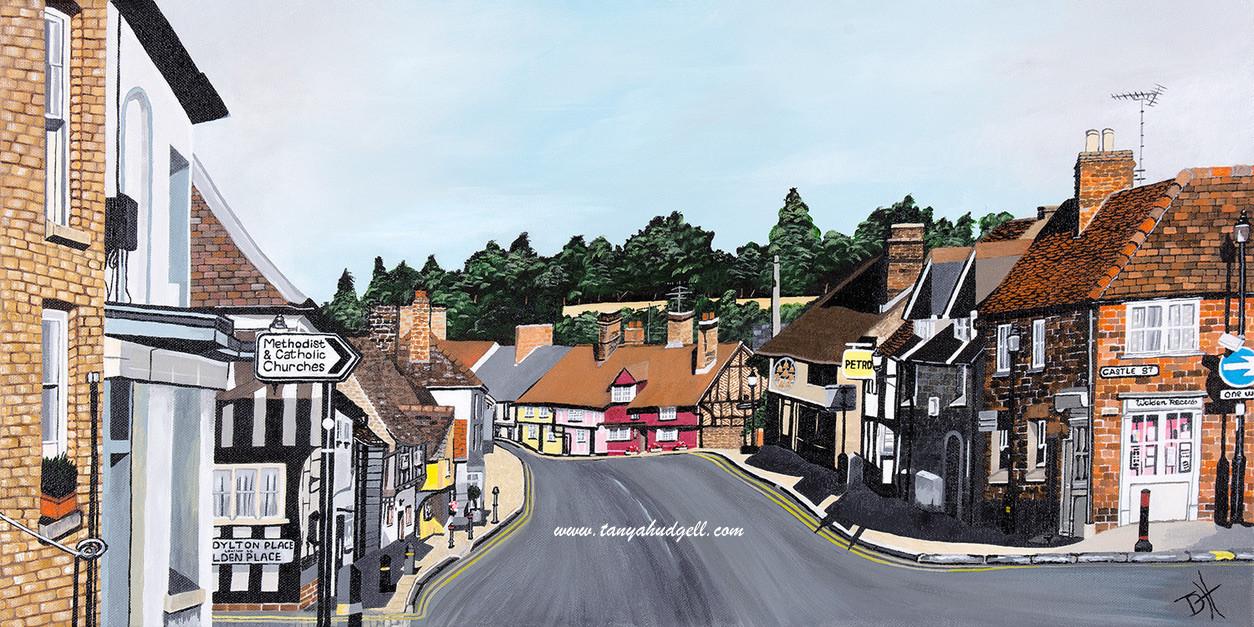 """Bridge Street, Saffron Walden (W20"""" x H12"""") Prints available"""
