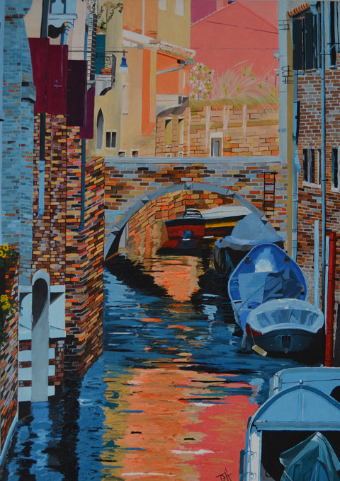 """Venice (W20"""" x H27"""")"""