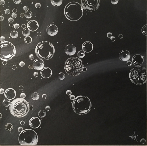 Lost in Space (50cm x 50cm) SOLD